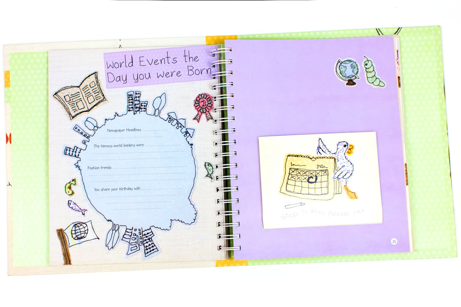 Awesome Baby Shower Record Book Part - 1: Cute As A Button Babyu0027s Record Book Is The Perfect Baby Shower Gift!
