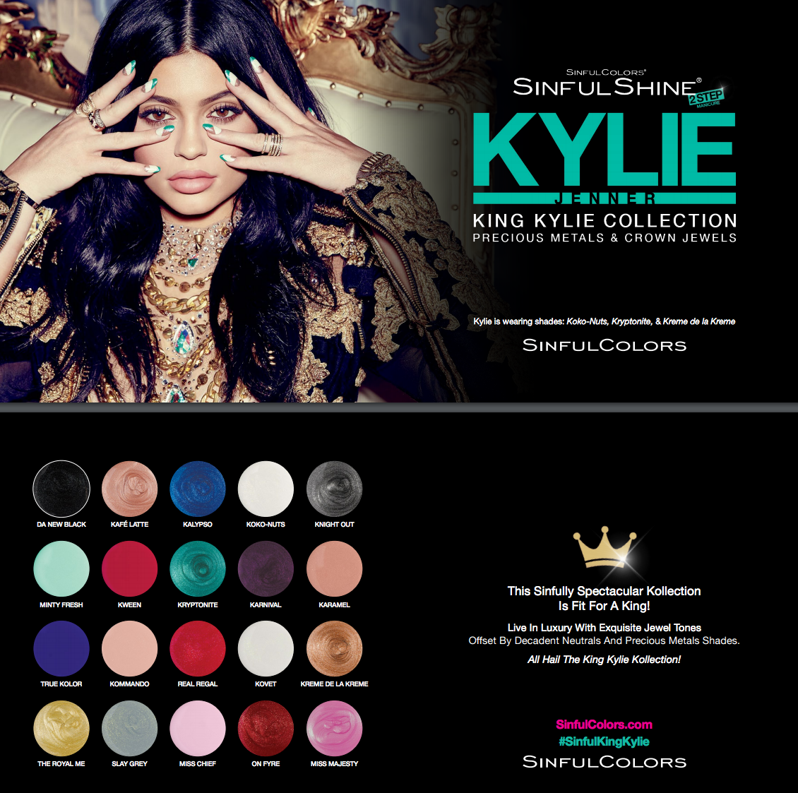 SinfulColors Kylie Jenner Nail Polish Collection (Beauty for Moms ...