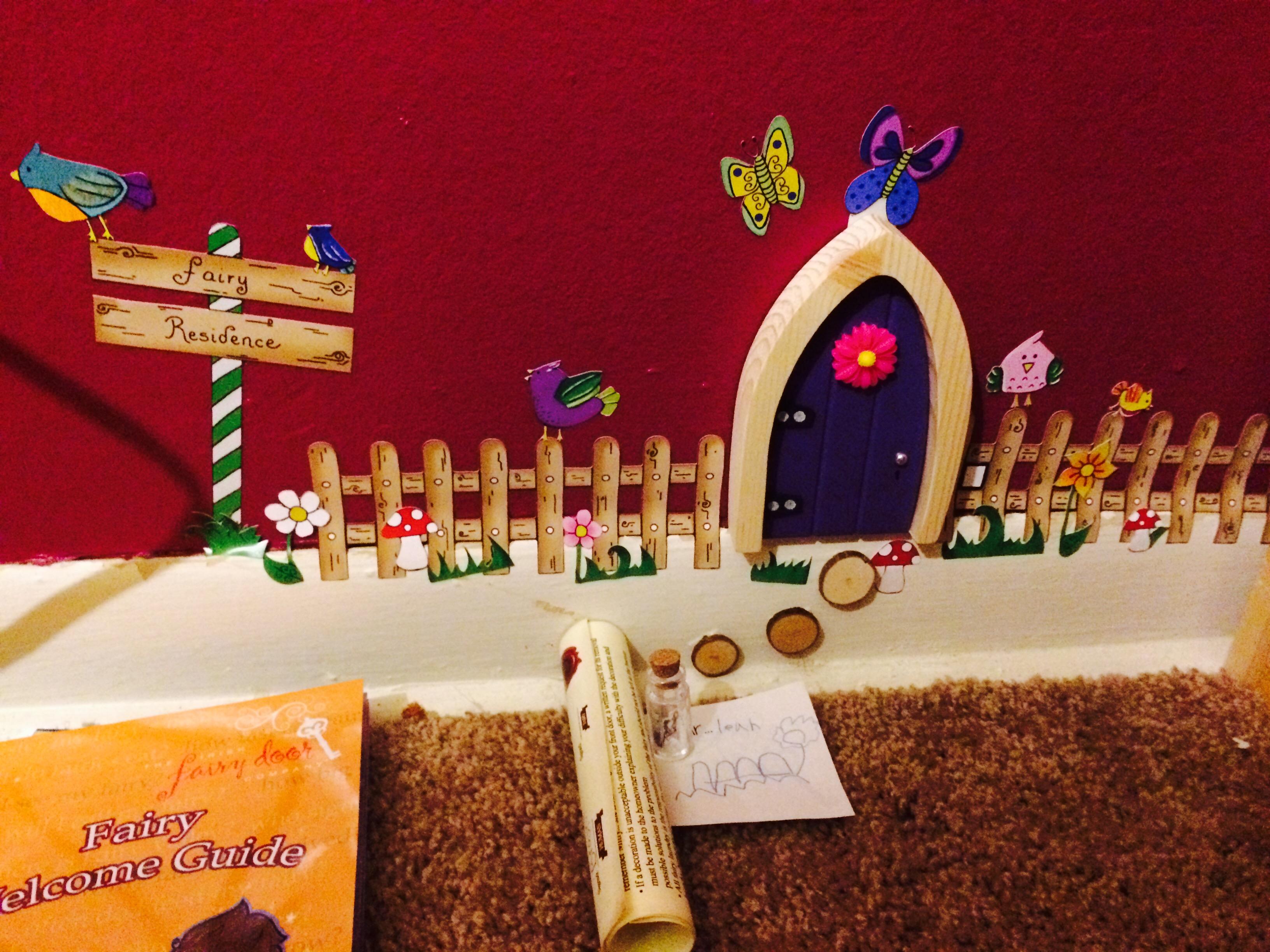 Arched irish fairy door by the the irish fairy door for The little fairy door company