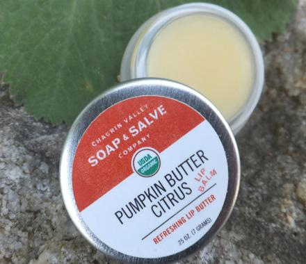 e4d69ebbbc5a Pumpkin Butter Citrus Lip Balm from Chagrin Valley Soap and Salve ...